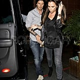 The Bieber-Loving Beckhams Do Dinner With the Ramsays