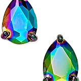 Rainbow Teardrop Stud Earrings