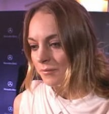 Lindsay Lohan Spray Tanning Line Interview