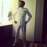 Danny Masterson showed off an awesome costume. Source: Instagram user dannymasterson