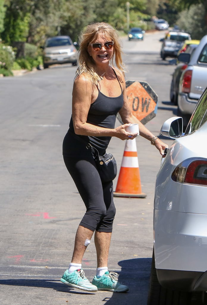 Goldie Hawn Out in LA August 2016