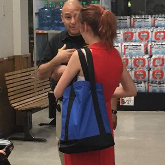 Police Officer Stops Mom From Breastfeeding in Public