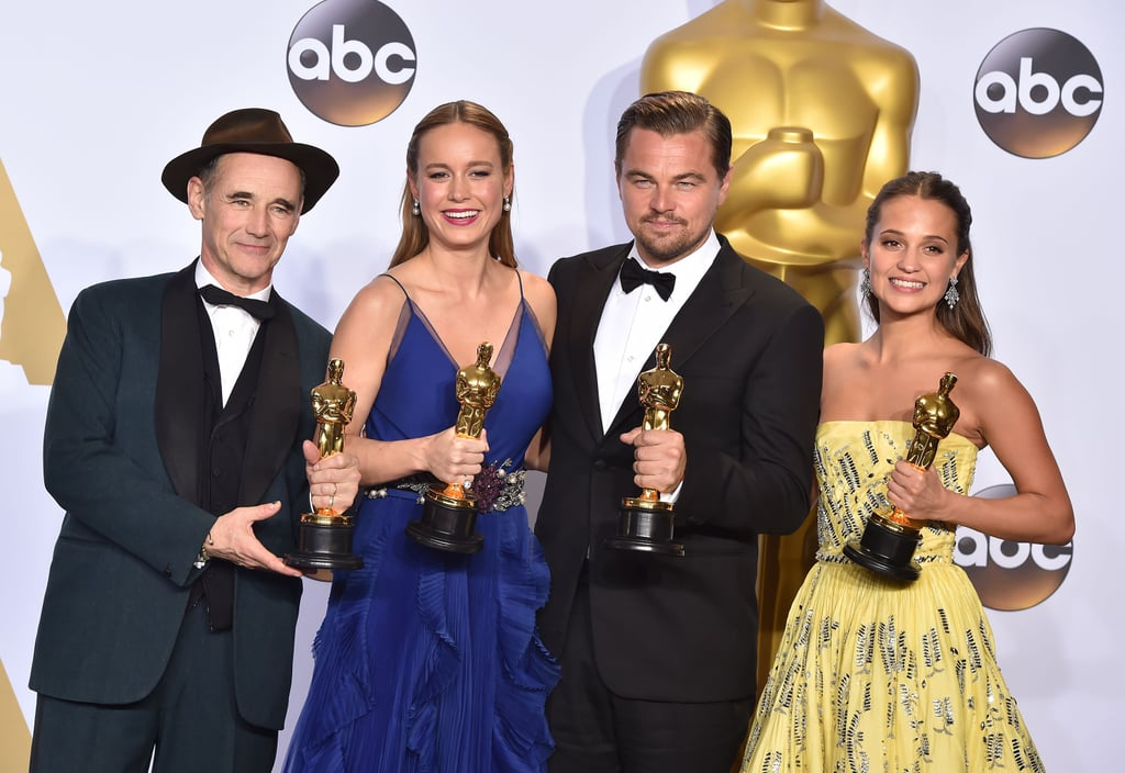 The next movies of the oscar winners 2016 popsugar for Oscar awards winning movies