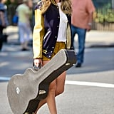 Taylor Swift was the epitome of country-girl cool as she walked the streets on NYC of August 31.