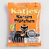 "In Amsterdam, licorice is candy king. This Dutch candy translates to ""Little Kitten Cat Paws."" These adorable candies are made with real licorice root juice, chamomile extract, and other herbs. World Market says they are ""soothing on the stomach and respiratory tract."" Here's for eating candy when your stomach hurts or you have a cough!  Shop it: Katjes Katzen Pfotchen, Set of 10 ($25)"