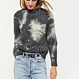 Urban Renewal Recycled Tie-Dye Fisherman Crew Neck Sweater
