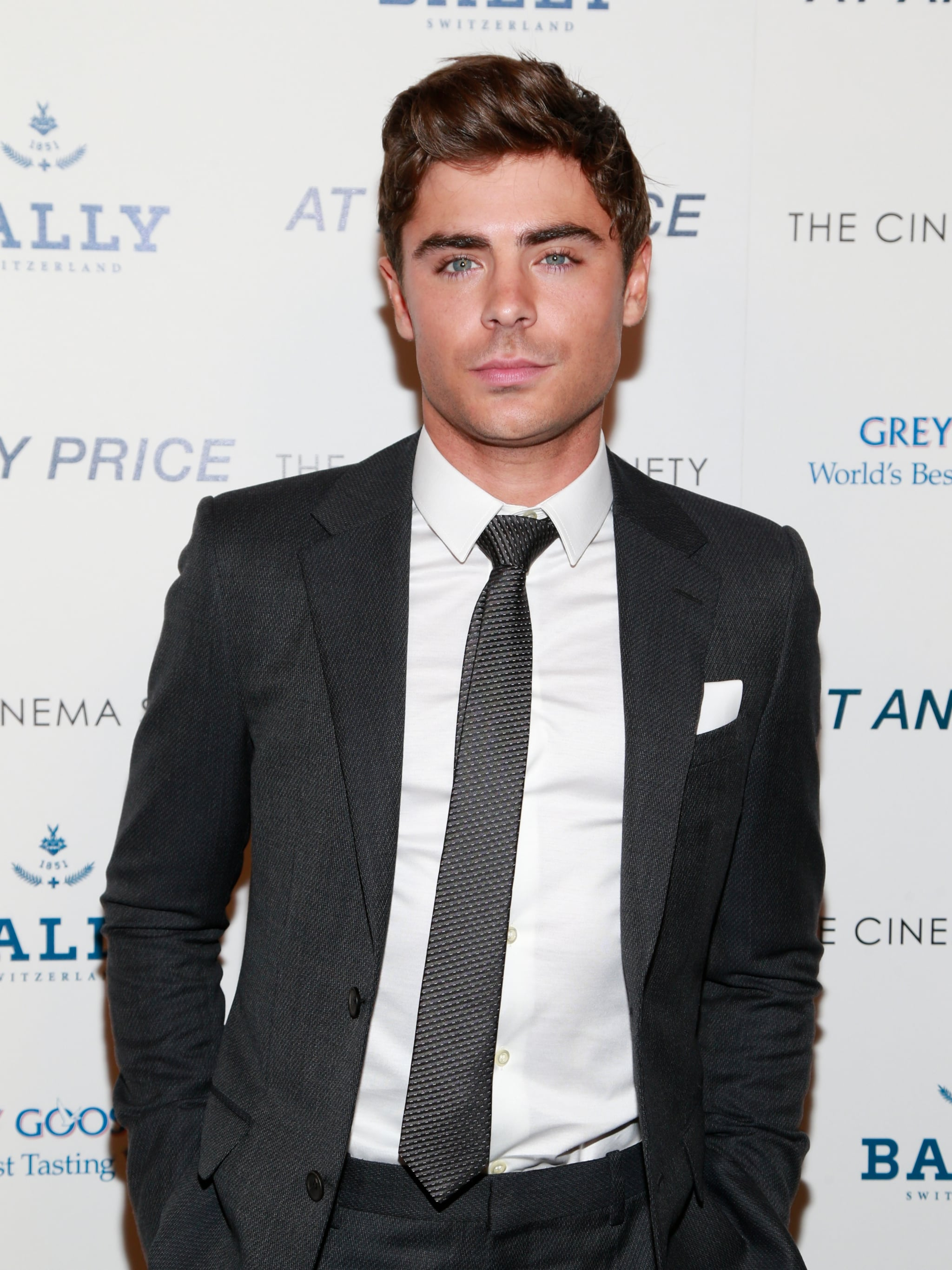 He really mastered smoldering on the red carpet at this point.