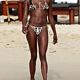 Photos of Kate Moss and Naomi Campbell in Bikinis
