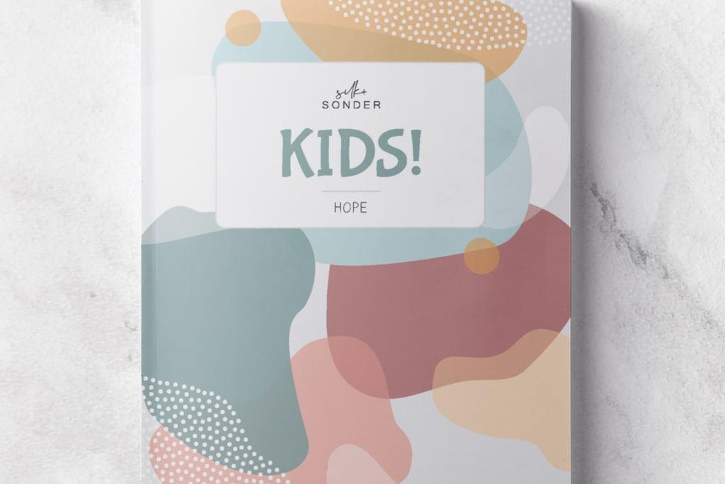Silk + Sonder Kids! Wellness Planner