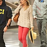 Lauren Conrad returned home to LA in time for the holidays.