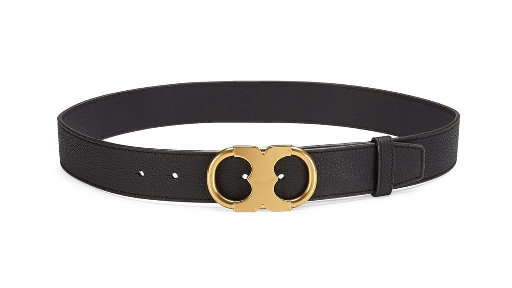 Tory Burch Gemini Leather Belt