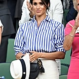 Meghan Markle Outfit at Wimbledon 2018