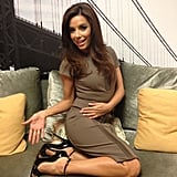 Eva Longoria showed off her new Brian Atwood heels. Source: Eva Longoria on WhoSay