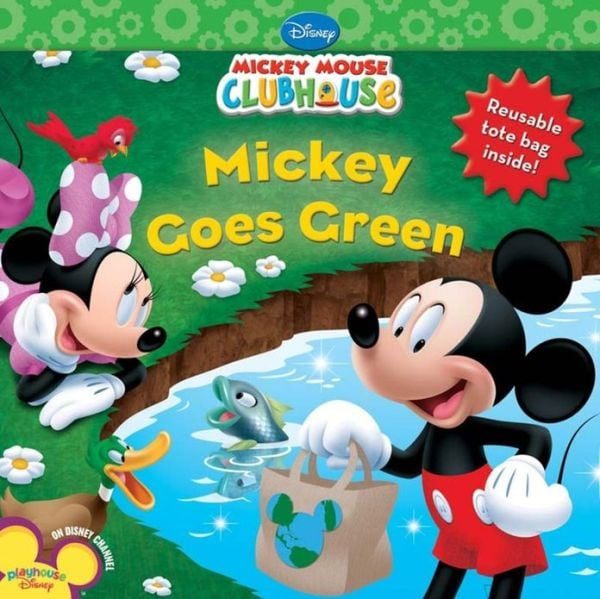 Mickey Goes Green