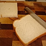 Cutting off the crusts