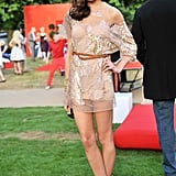 Caroline Sieber at the Serpentine Gallery Summer party.