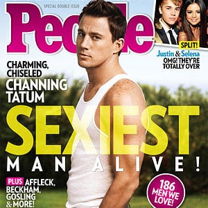 Channing Tatum PeopleSexiest Man Alive