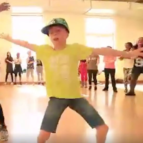 Little French Boy Dancing Video May 2017
