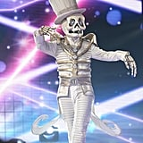 More Photos of the Skeleton on The Masked Singer: