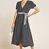 Breanna Polka Dot Wrap Dress