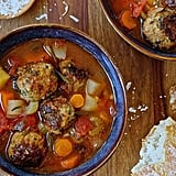 Spinach Meatball Minestrone