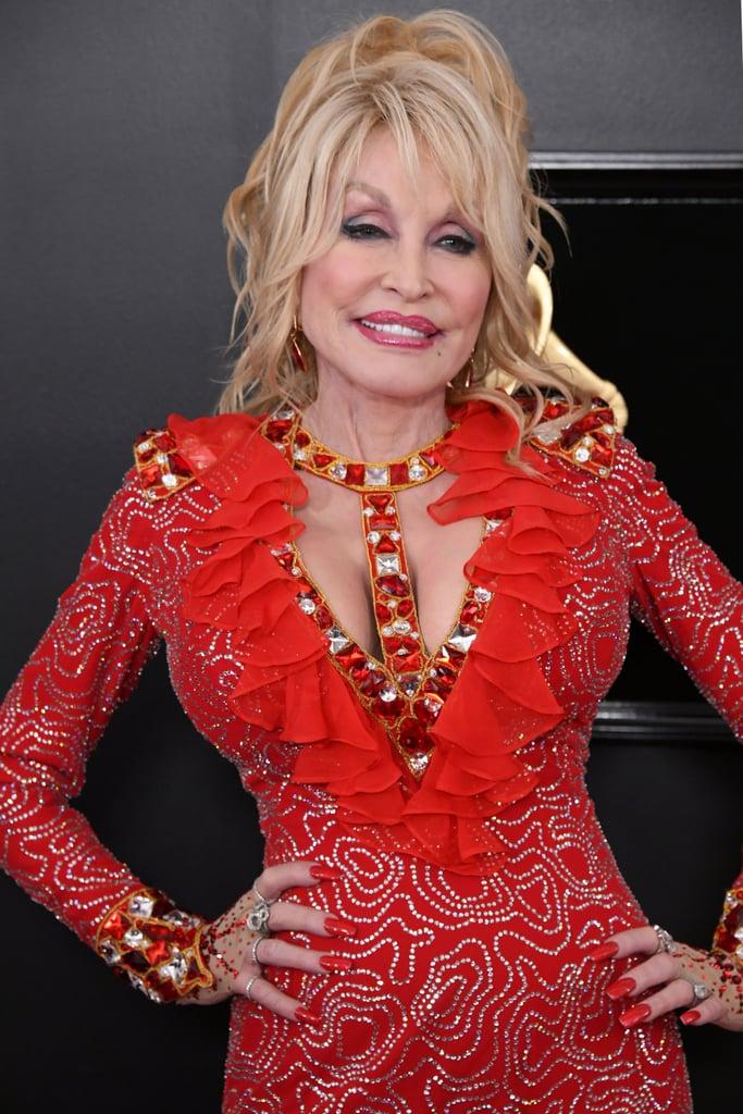 Dolly Parton at Grammy Awards
