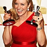 Rebecca Gibney, Winner of the Gold Logie and Most Popular Actress (Packed to the Rafters)