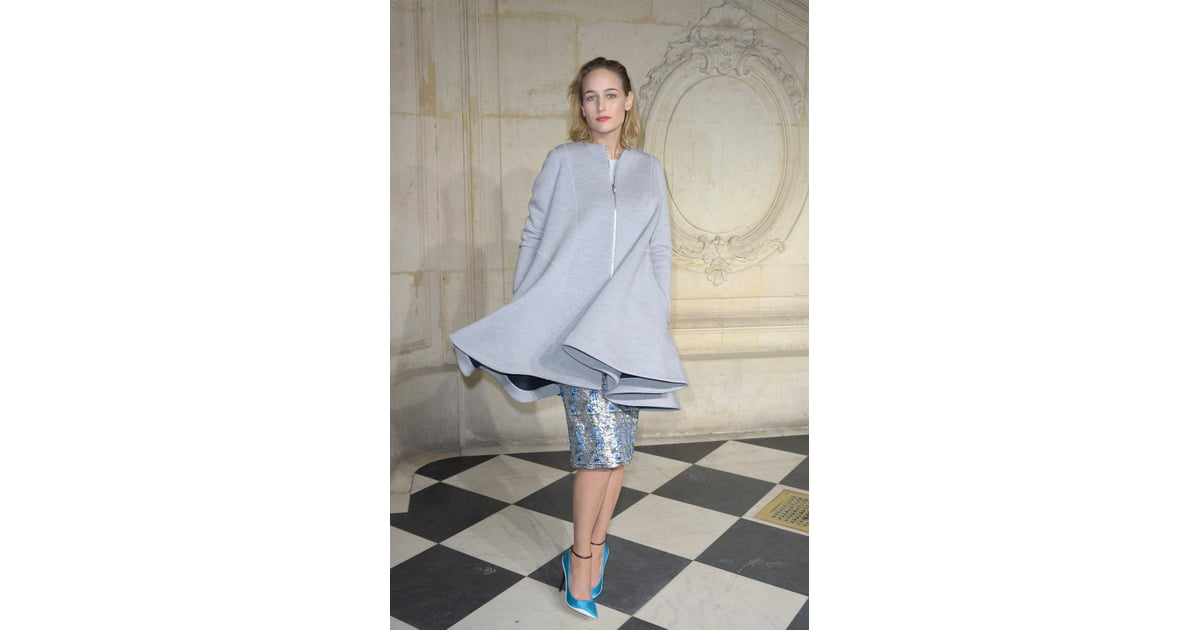 Leelee sobieski at the label 39 s haute couture show raf for Haute couture labels