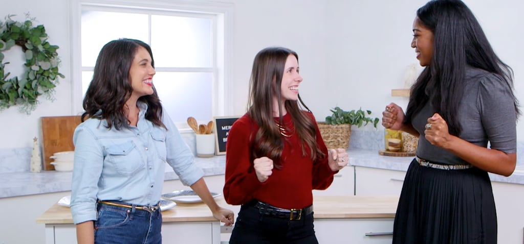 Watch POPSUGAR Staffers Learn How to Plate Like Chefs