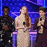 Pictured: Caleb McLaughlin, Sadie Sink, and Gaten Matarazzo