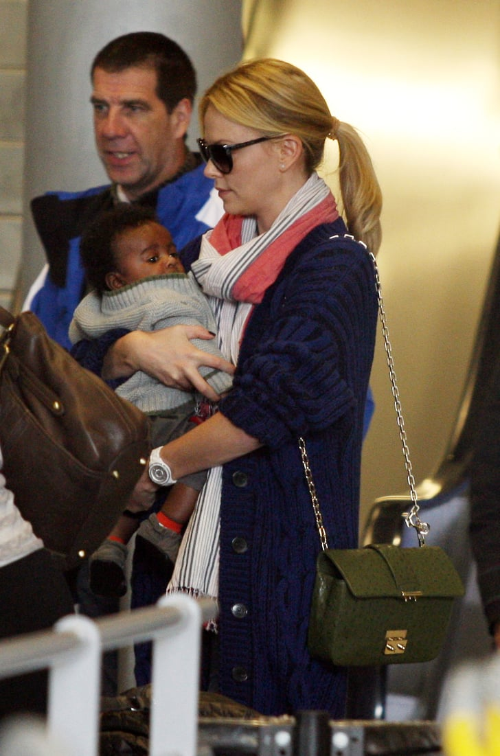 Pictures Of Charlize Theron S Son Jackson Theron