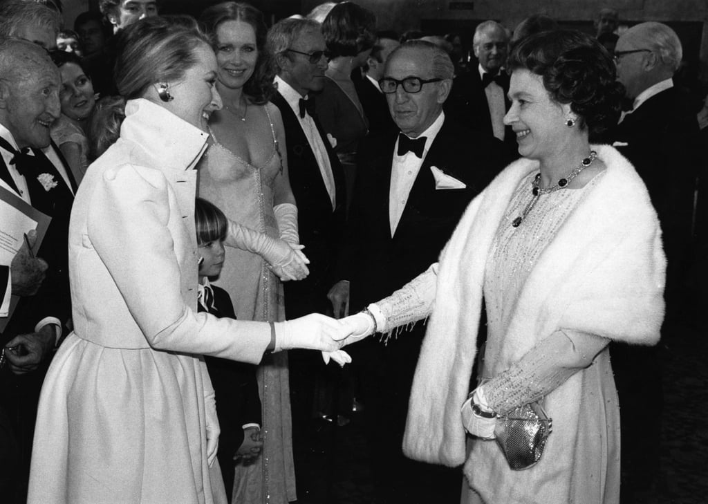 Meryl Streep and the Queen