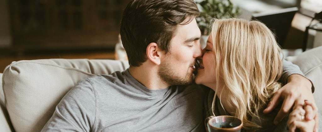 Coffee, Sweatpants, and Kisses Make This In-Home Engagement Shoot Perfect
