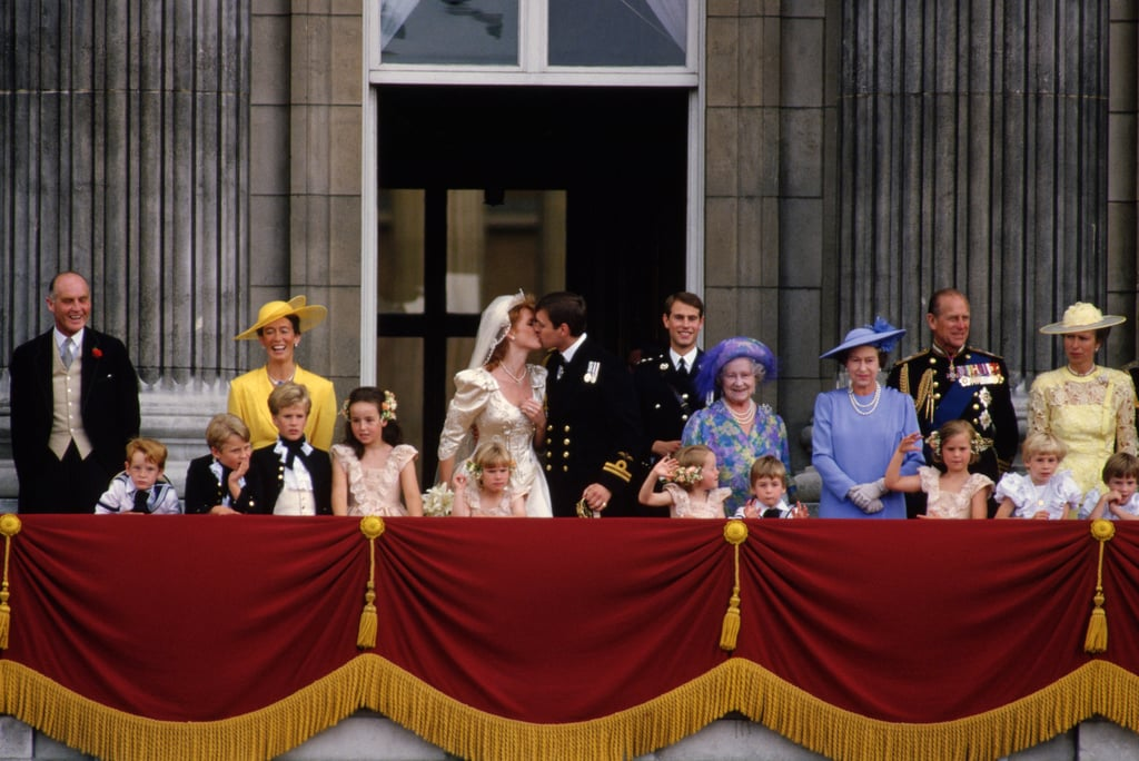 """Andrew and Sarah would go on to welcome two daughters, Princesses Beatrice and Eugenie of York. Their marriage was turbulent, and they decided to separate in January 1992 (several months later, Charles and Diana would do the same). It wasn't until May 1996 that they announced their plans to divorce. Despite their somewhat messy split, Andrew and Sarah still remain good friends, and Eugenie has called them """"the best divorced couple I know."""""""