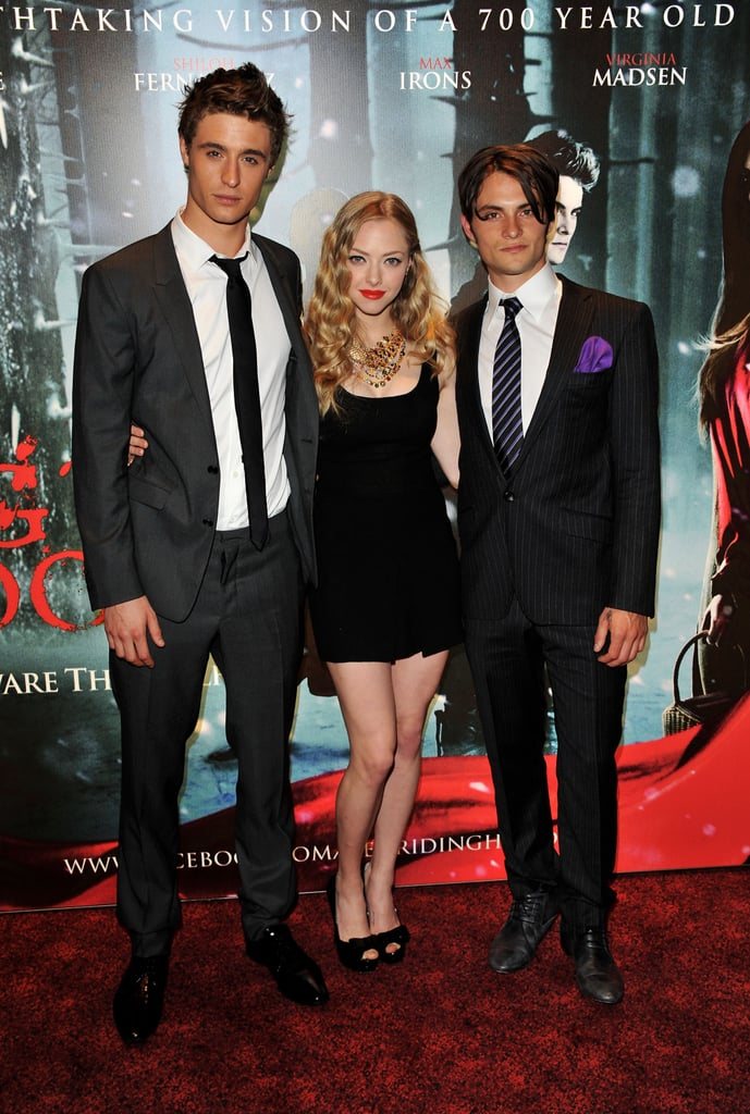 Photos of Amanda Seyfried, Max Irons and Shiloh Fernandez at the London Screening of Red Riding Hood
