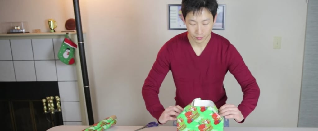 Watch This Man Show You How to Perfectly Wrap a Gift in 1 Minute and 19 Seconds