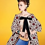 Actress Mia Wasikowska is the star of the new Miu Miu Spring '12 campaign. Source: Fashion Gone Rogue