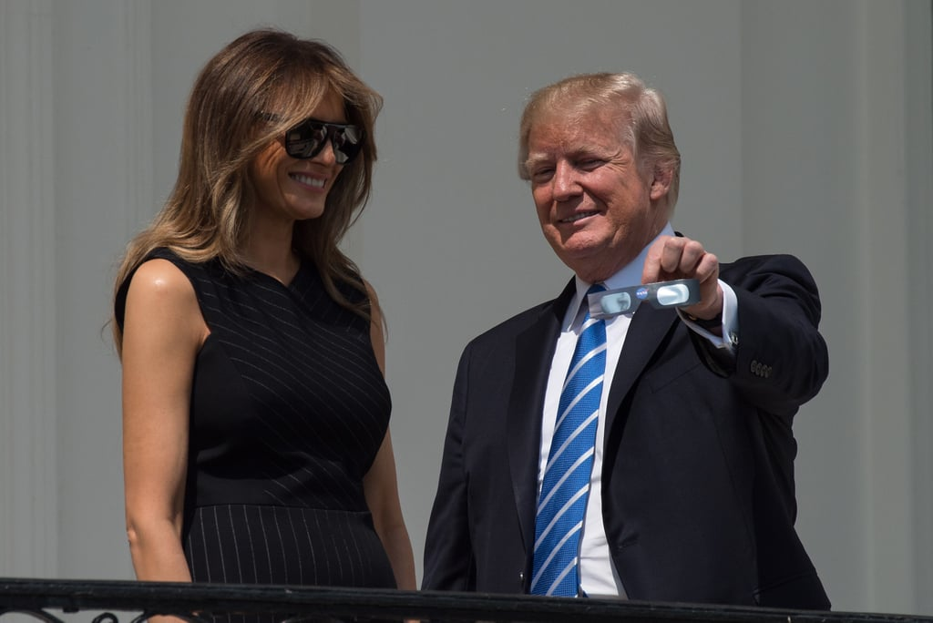 Whether She Meant to or Not, Melania Trump Just Took a Major Style Cue From Michelle Obama
