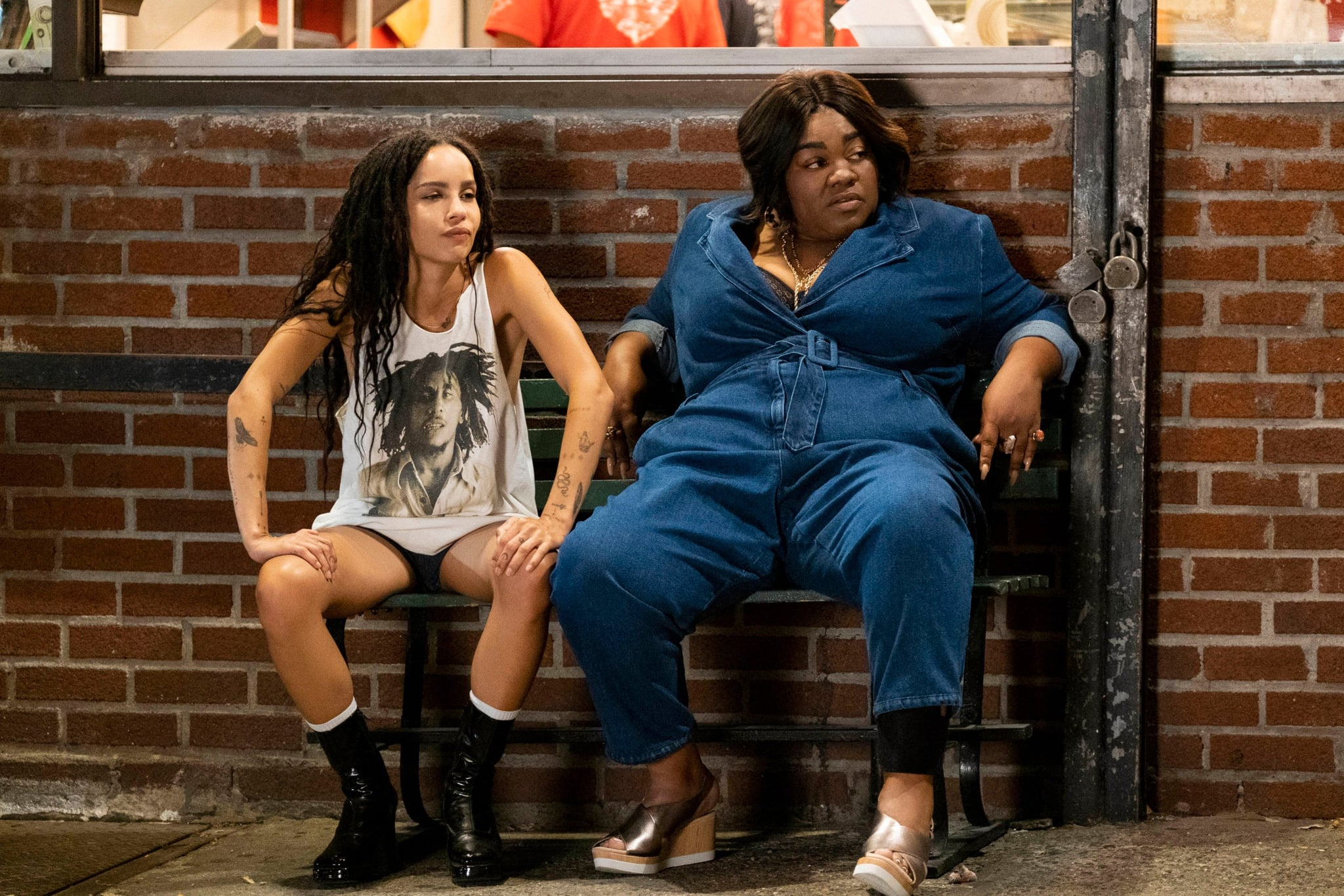 HIGH FIDELITY, from left: Zoe Kravitz, Da & # 39; Vine Joy Randolph, & # 39; Weird ... But Warm, (Season 1, Episode 106, broadcast on February 14, 2020). Photo: Phillip Caruso / Hulu / Courtesy of the Everett Collection