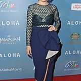 Rachel McAdams wore a similar design to a film premiere in May.