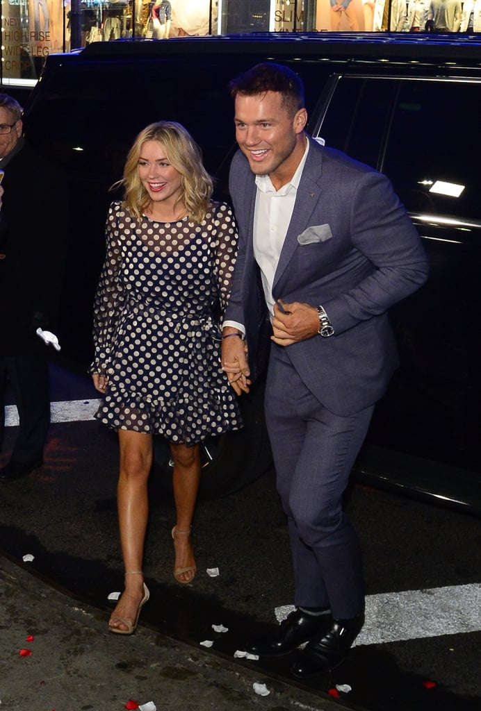 Photos of Colton and Cassie Heading Into GMA