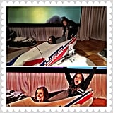 """Lolo goofed off in a bobsled in February 2013 with fellow Summer Olympian Alex Morgan, who played soccer for Team USA during the 2012 Games. """"Recruiting @alexmorgan13 to join the USA Bobsled Team,"""" she said. (Spoiler alert: Alex didn't go for it.) Source: Instagram user lolojones"""