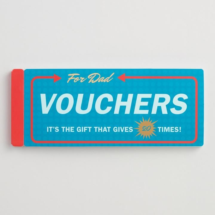 For Dad Voucher Book