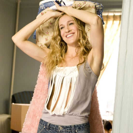 Carrie Bradshaw's Work-From-Home Outfits on Sex and the City