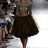Walking the runway for Sao Paulo Fall/Winter Fashion Week in '06.