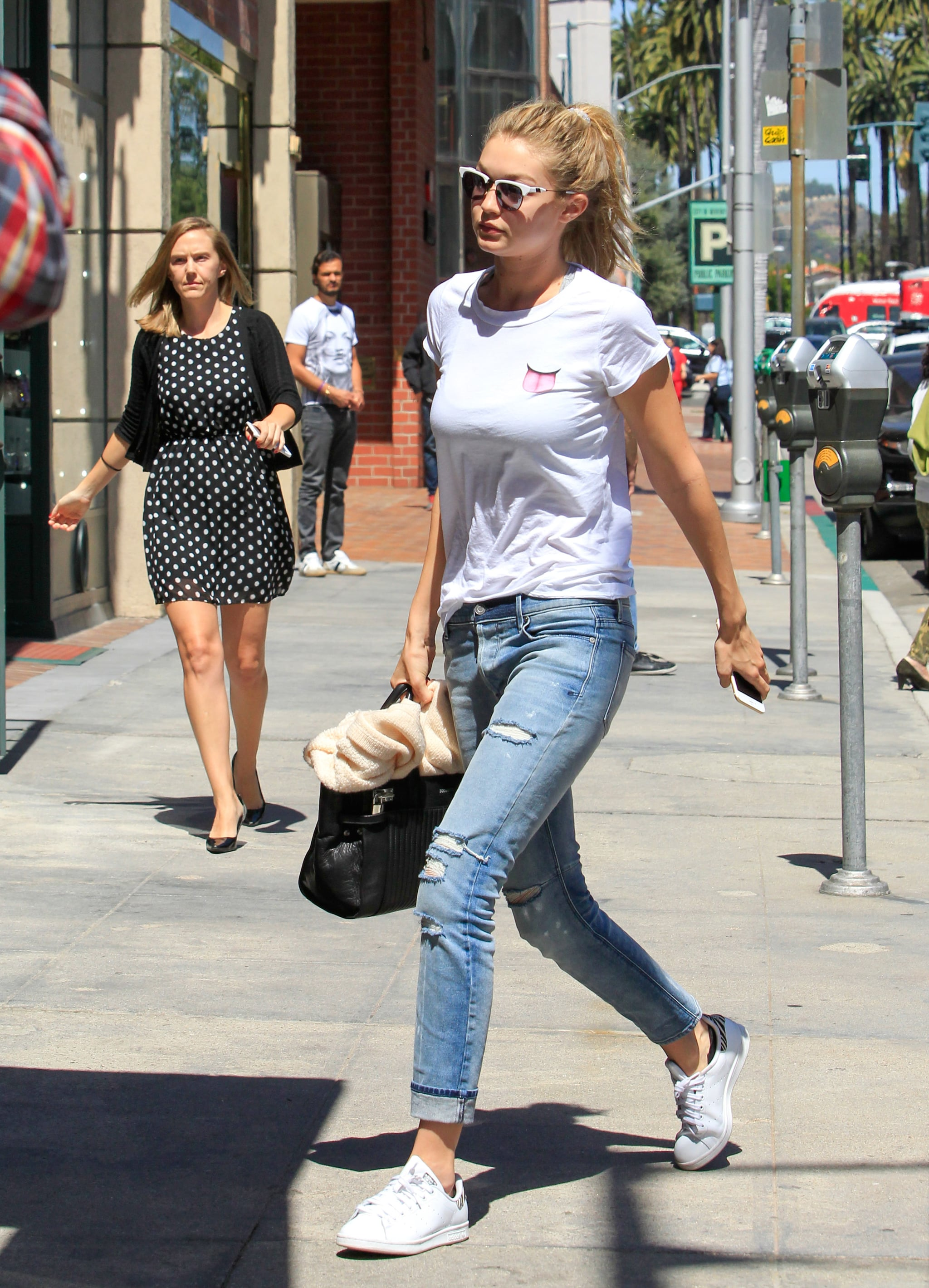 celebs wearing stan smith adidas