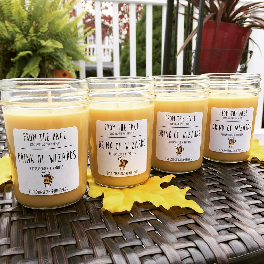 Drink of Wizards candle ($11) with butterscotch and vanilla notes