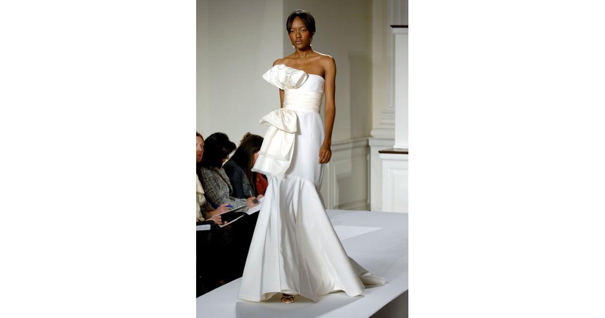 Oscar De La Renta Bridal Spring 2009