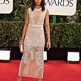 Kerry Washington posed for the cameras Sunday night.
