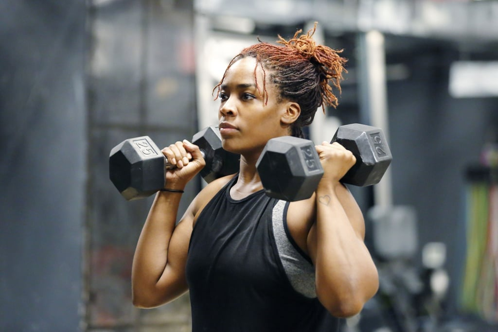 20-Minute Dumbbell Workout For Weight Loss